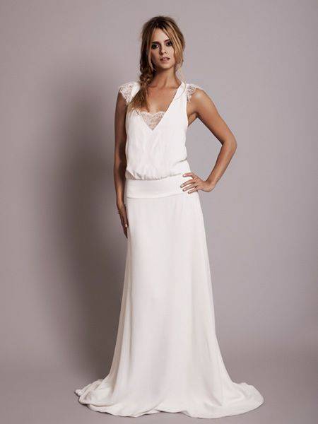 vestidos de novia tendencia vintage 2014 - Buscar con Google ...