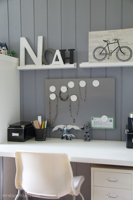 Photo of Boys cool workspace – all Ikea