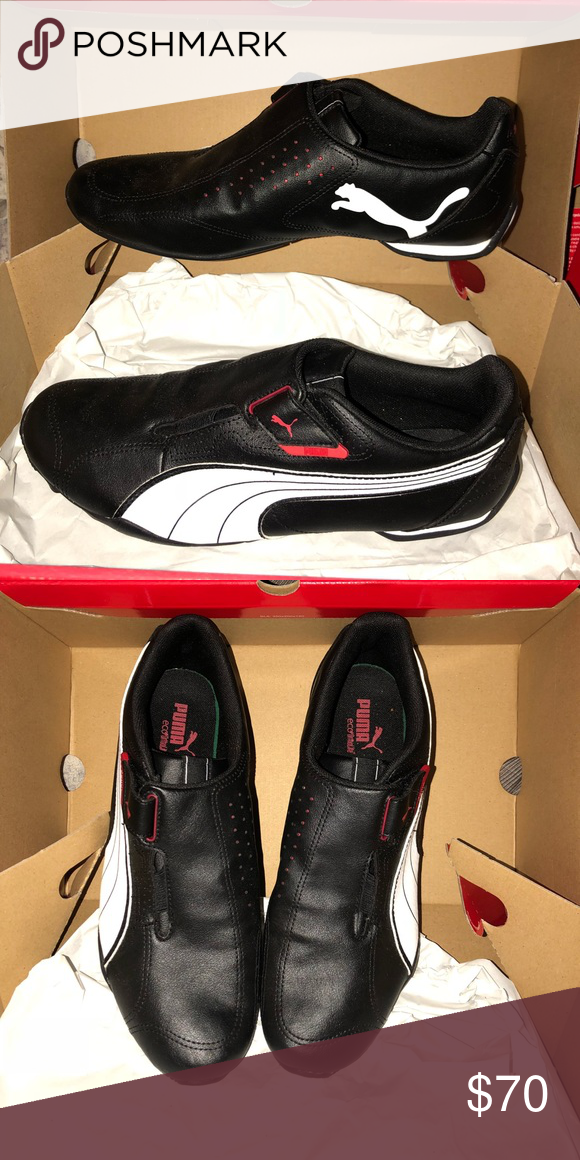 Black leather puma sneakers | Puma