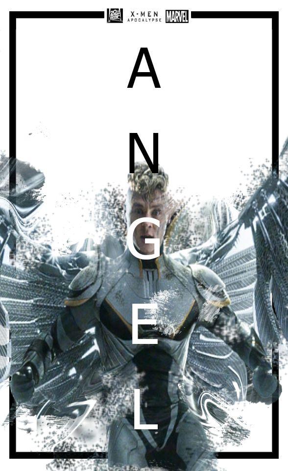 Fanmade Poster Angel X Man Apocalypse By Poohpattapon Deviantart Com On Deviantart X Men Apocalypse Apocalypse X Man