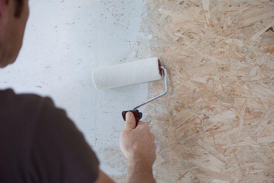 garage grenier ou sol voici comment peindre des panneaux osb pinterest panneau osb. Black Bedroom Furniture Sets. Home Design Ideas
