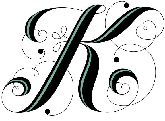 Pin By Tina Bazen On Letters K T D Pinterest Custom Embroidery