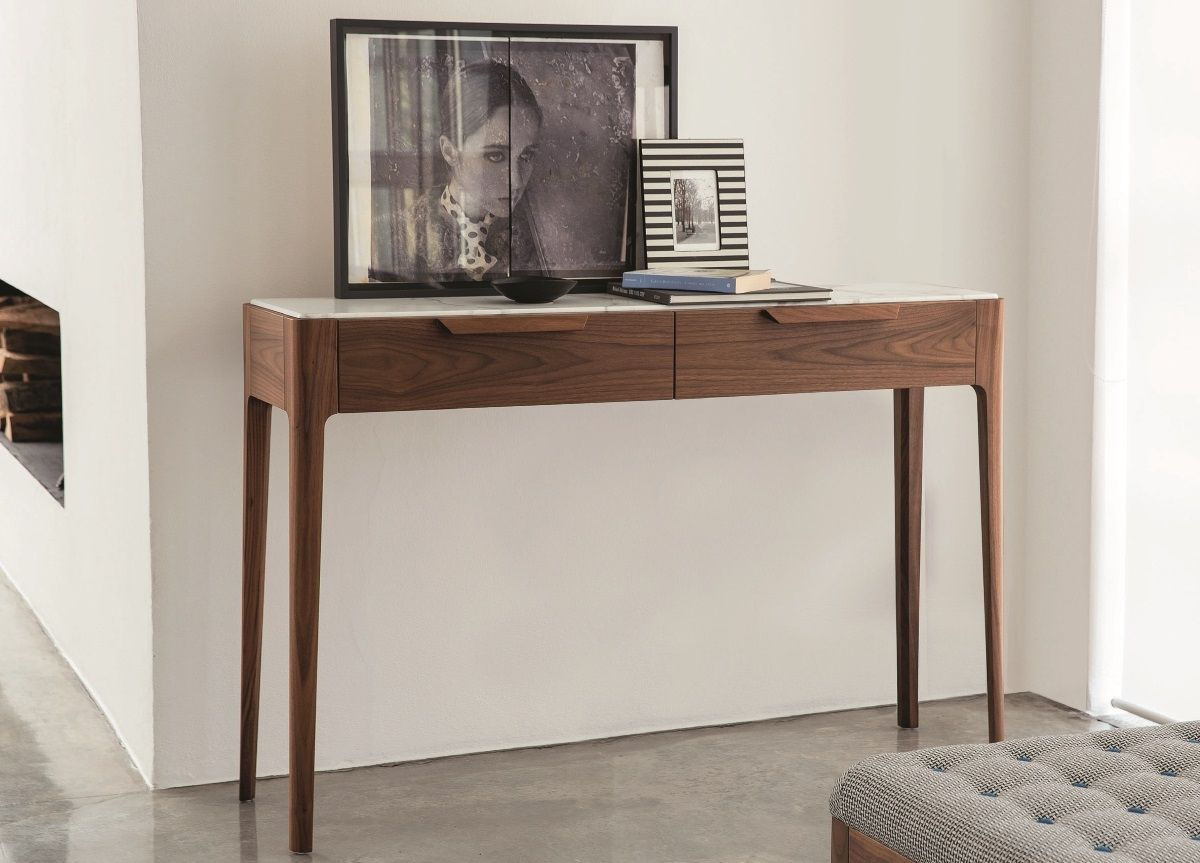 Contemporary Console Table With Drawers Modern Console Tables Console Table Contemporary Console Table