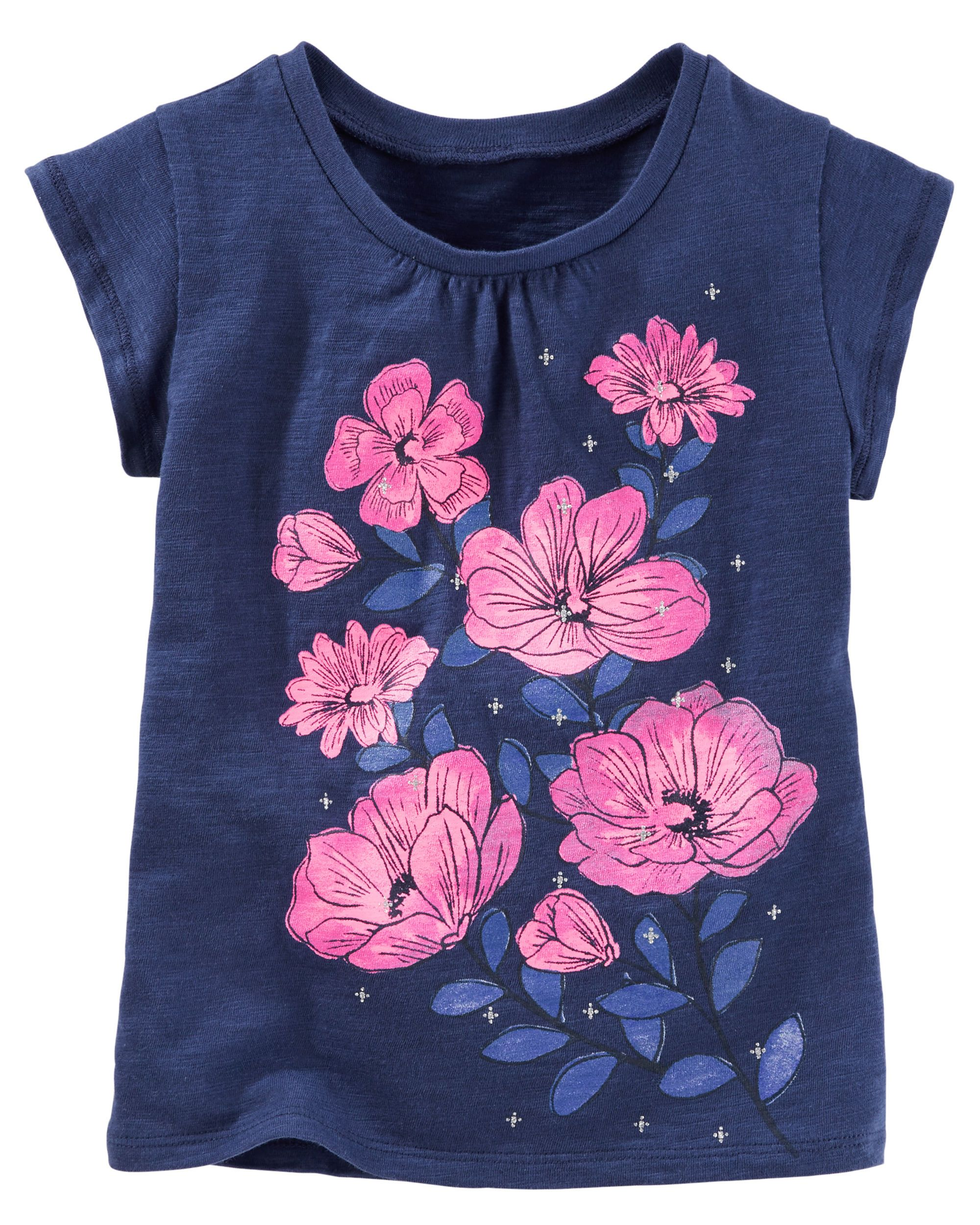 Sparkle Flower Tee | Babies clothes, Toddler girls and Kids girls