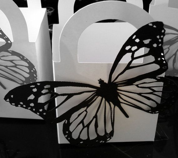 120 Butterfly Wedding Favor Boxes By EtchedinTimeLLC On Etsy 9600