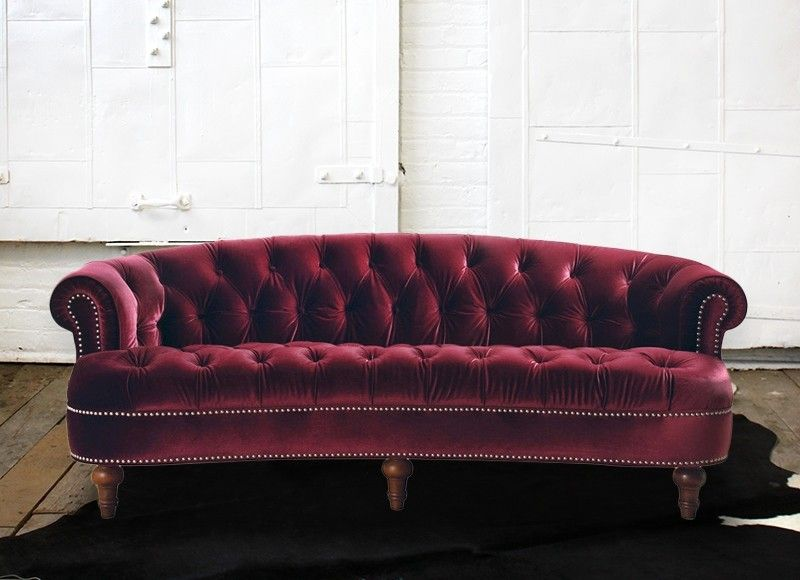 Cool Burgundy Tufted Sofa Tufted Couch Furniture Design Pdpeps Interior Chair Design Pdpepsorg