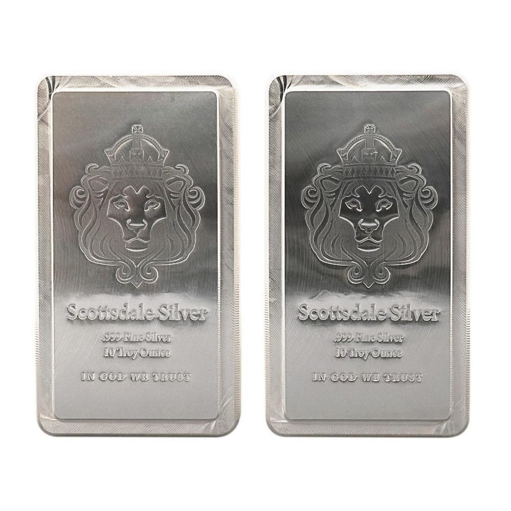 Special Price 2 X 10 Oz Scottsdale Stacker Silver Bars 20oz 999 Silver A248 Ebay Http Www Ebay Com Itm Special Price 2 X 10 Oz Scottsdale Stacker Silver With Images