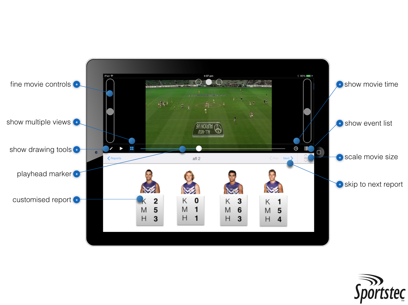 Sportstec Player iPad Solution: An Overview   Elite