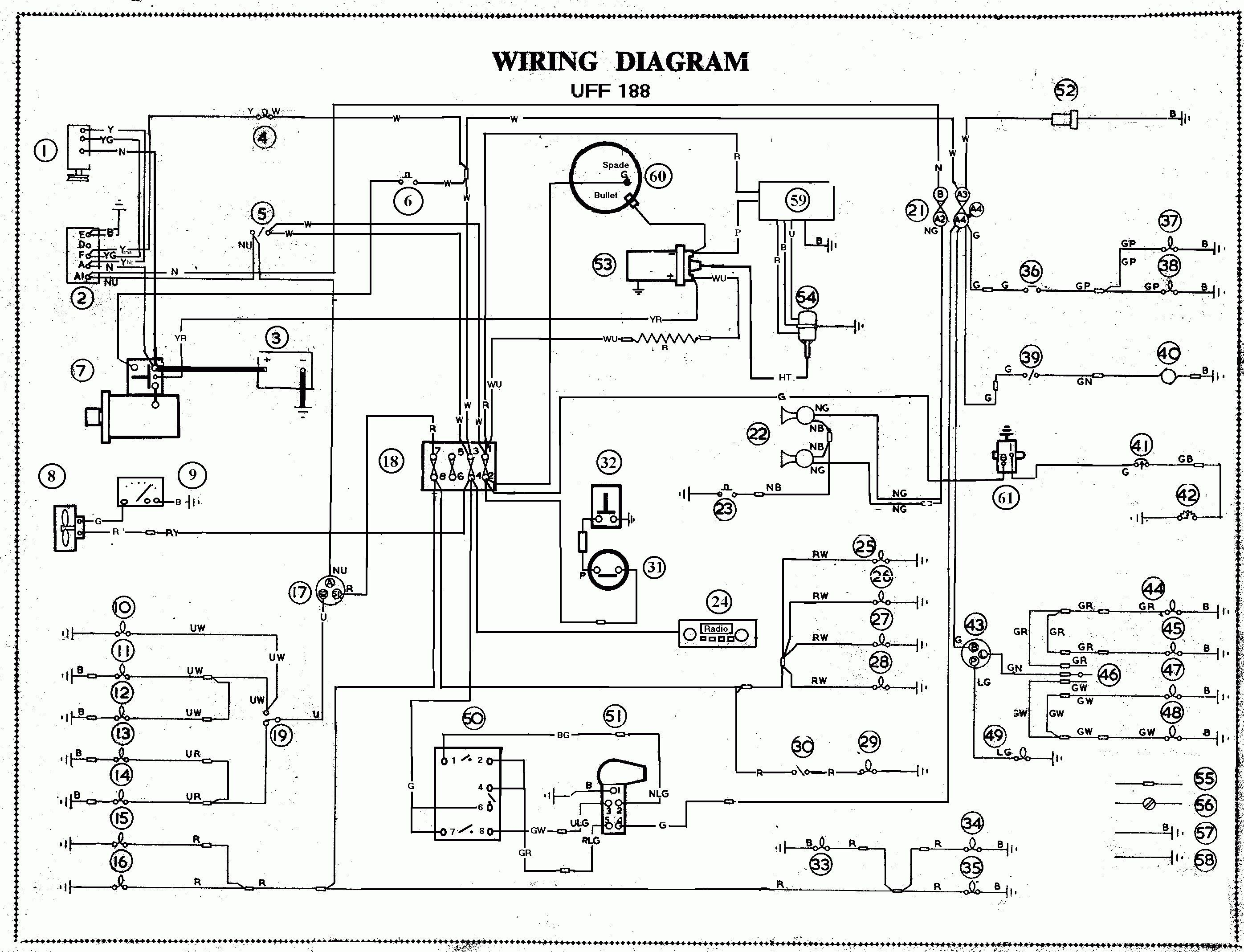 Wiring Diagram Symbols Legend