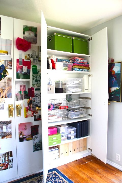 Emily Henderson S Office Craft Inspiration Boards Ikea Office Organization Ikea Office Small Office Organization