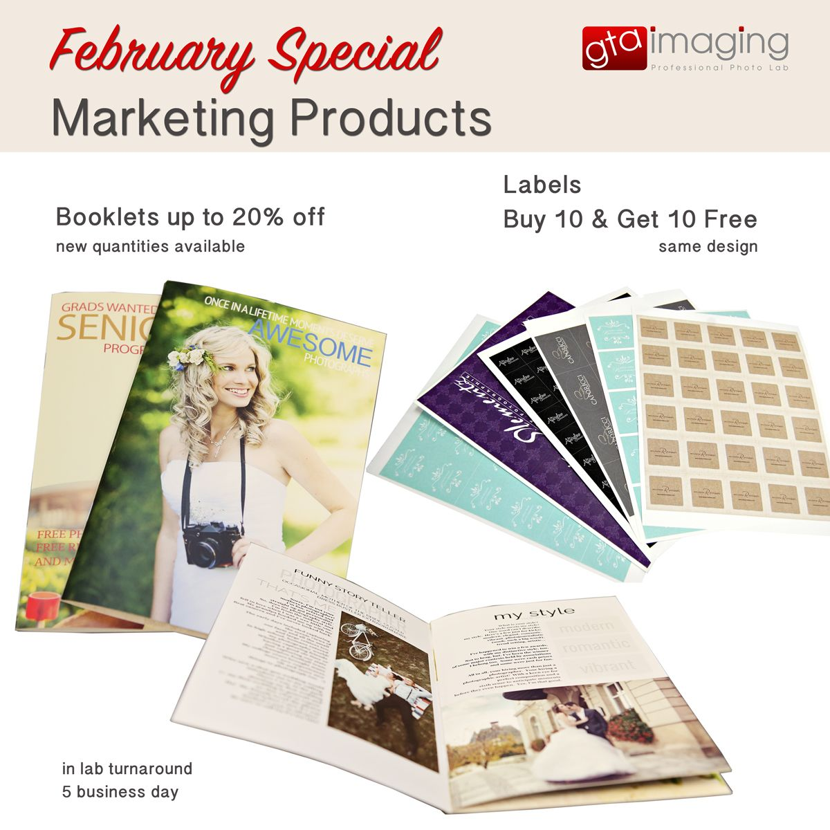 February Special 2015 Booklet, Posing guide, Book cover