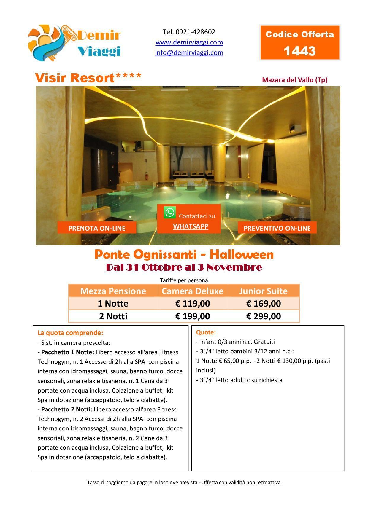 Visir Resort**** - Mazara del Vallo (Tp) Ponte Ognissanti ...