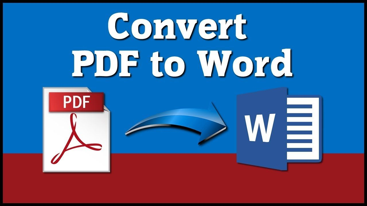 How To Convert Pdf To Word Document Free Online Conversion Tutorial Microsoft Word Document Words Tutorial