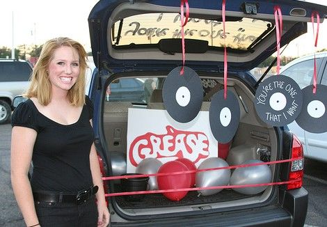 Grease decoration theme for Trunk or Treat!! Grease Pinterest - trunk halloween decorating ideas