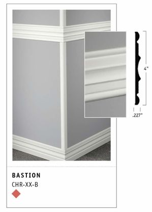 Johnsonite Chair Rail Blue Living Room > Wall Base, Finishes & Accessories Finish Borders / Base Millwork Contoured ...