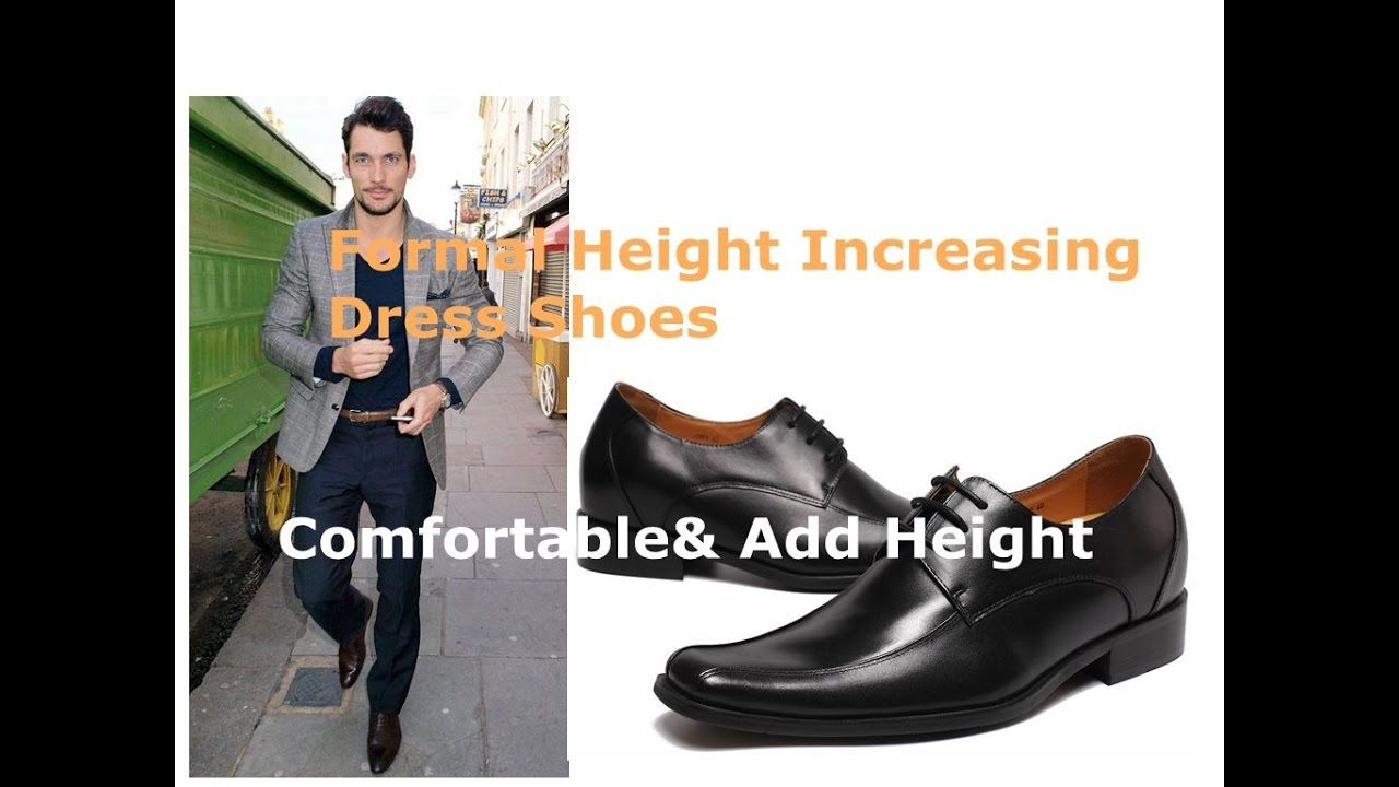 6c85c5e163d Tall man · Hidden High Heel Dress Shoes