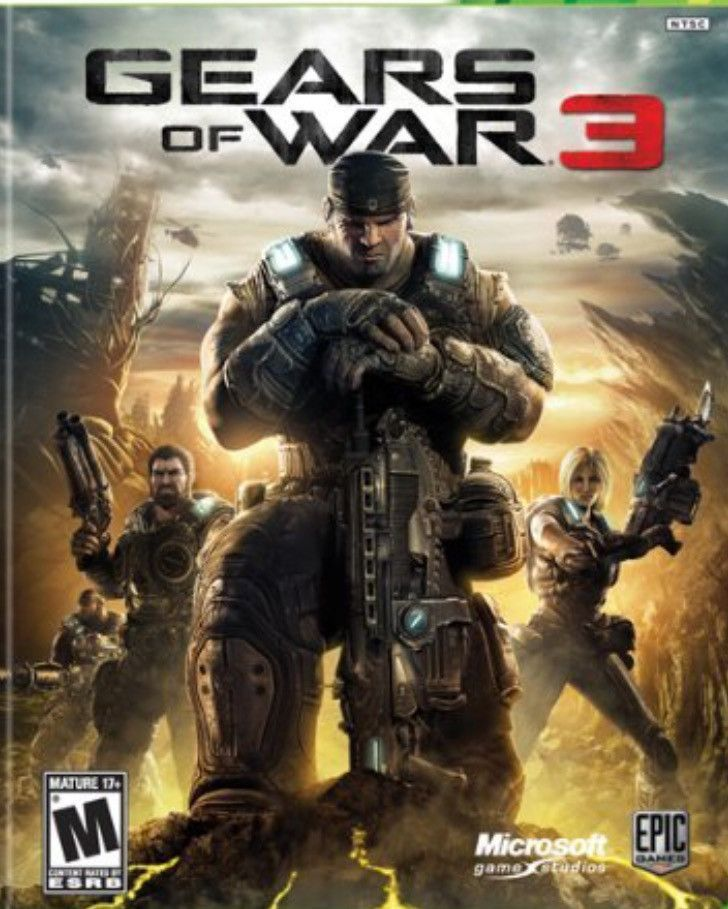 Xbox 360 Gears Of War 3 Gears Of War 3 Gears Of War Xbox 360 Games