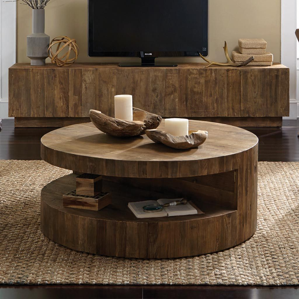Weston round coffee table coffee tables in 2019 coffee - Brickmakers coffee table living room ...