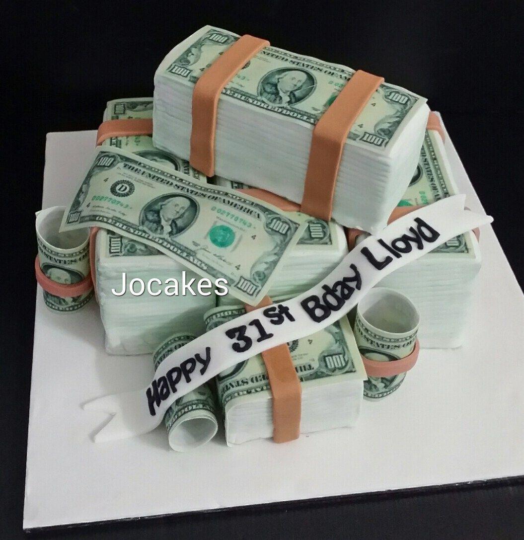 Marvelous 21 Inspired Photo Of Money Birthday Cake With Images Money Funny Birthday Cards Online Kookostrdamsfinfo