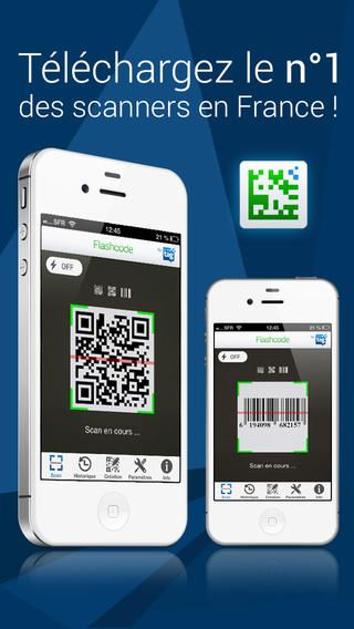flashcode iphone