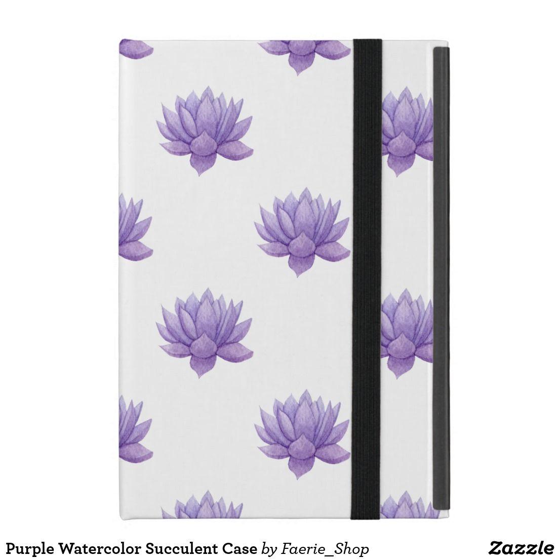 c3de66dbf9a509 Purple Watercolor Succulent Flip-Flops Flip Flops  watercolor  watercolour   succulent  cactus  flower  purple  painting  colorful  botanical…