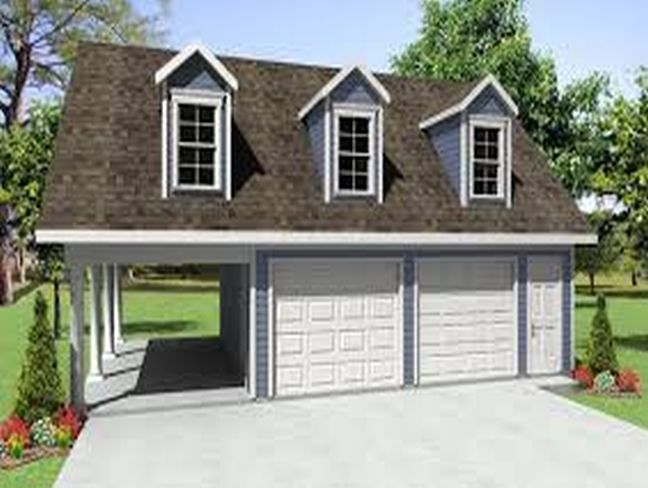 garage with apartment kits
