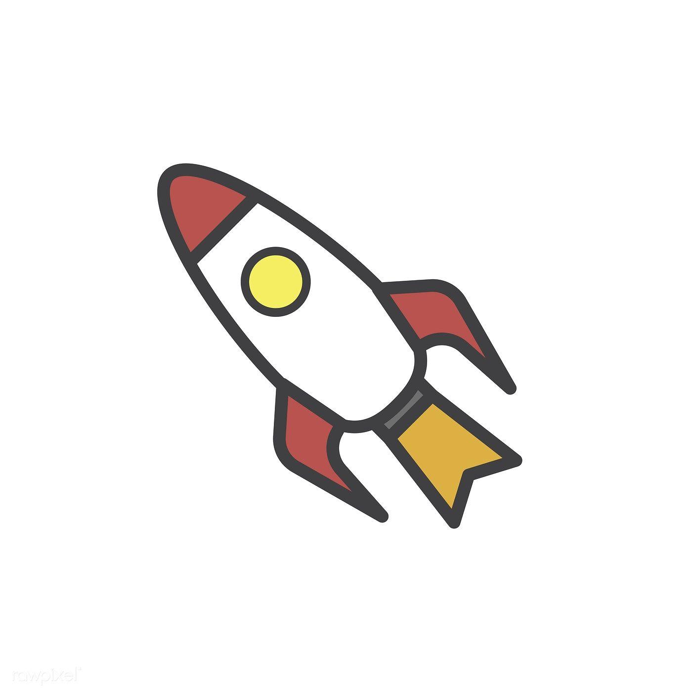 Illustration Of Rocket Ship Vector Free Image By Rawpixel Com Ship Vector Vector Free Rocket Ship Tattoo