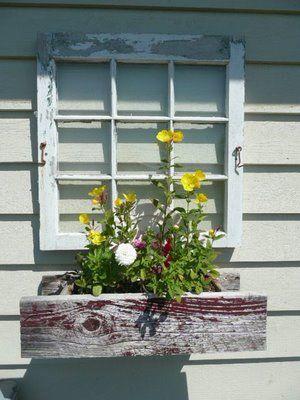 Lovely Good Idea For Garage West Wall... Or Use Shutters, Like Closed Window. Rund  Ums HausDekorationAußenwandkunstAußenwändeOutdoor ...