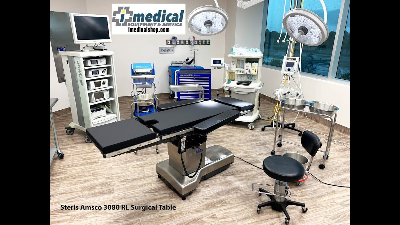 Steris Amsco 3080 Rl Surgical Table Surgical Tables Table Home