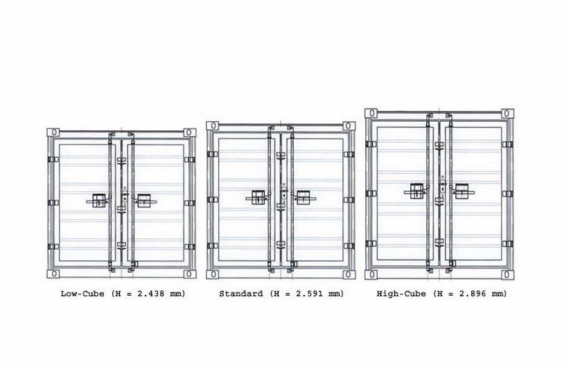 Resultado de imagen para medidas de un contenedor casa - Casas contenedor espana ...