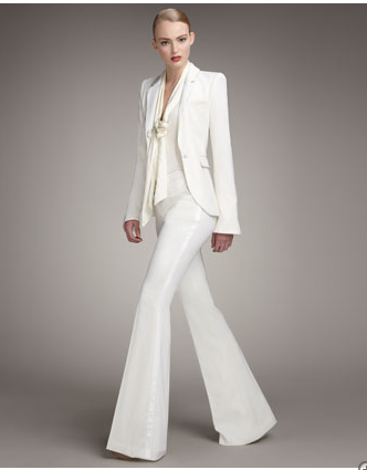 Image Detail for - White Pant Suit From Rachel Zoe's Collection I ...