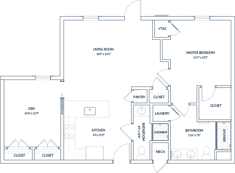 Cary Nc Senior Independent Living Apartments Floor Plans The Templeton Of Cary Floor Plans Apartment Floor Plan How To Plan