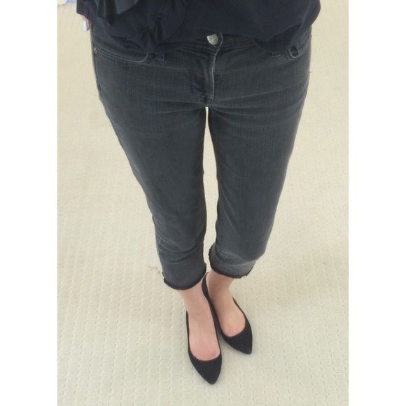 ankle crop jeans - Grey Citizens Of Humanity 9N99wUAJ