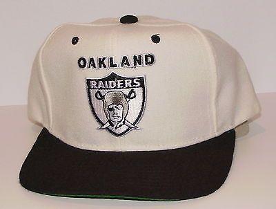db746d5c ... get vintage 90s nfl oakland raiders starter snapback hat cap nwot new  old stock c0ea7 dbd43