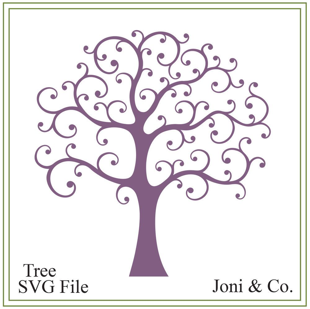 image about Tree of Life Printable identify Tree svg, whimsical tree svg, wedding day svg, character svg
