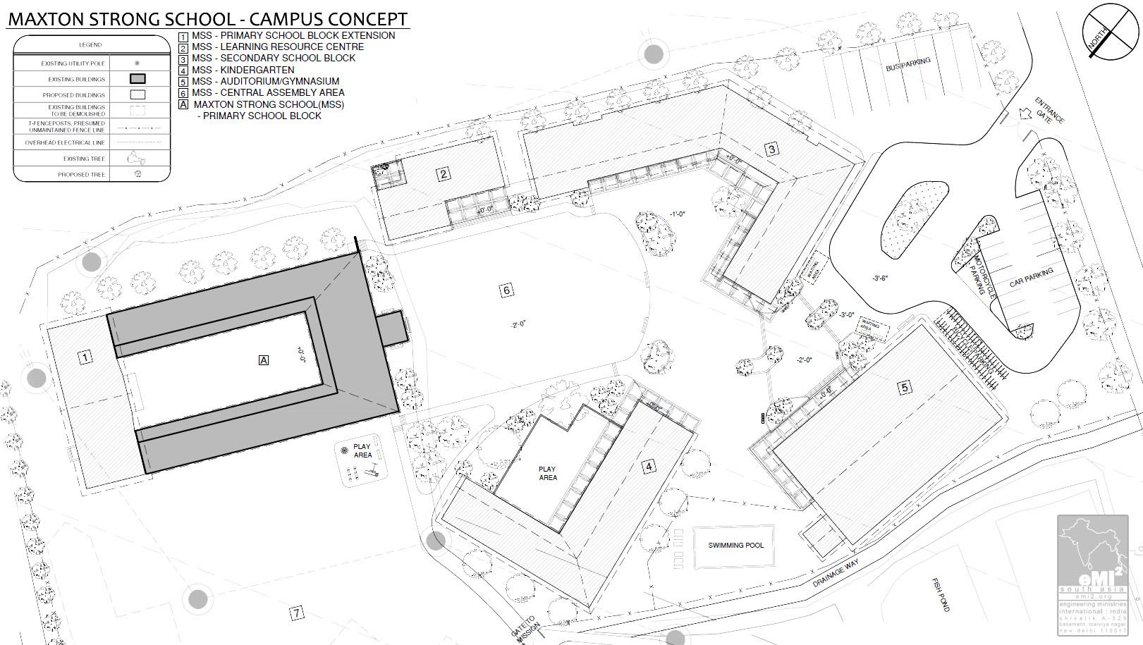 kindergarten architecture concept