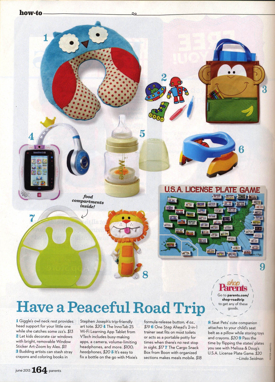 Parents June Have A Peaceful Road Trip Article