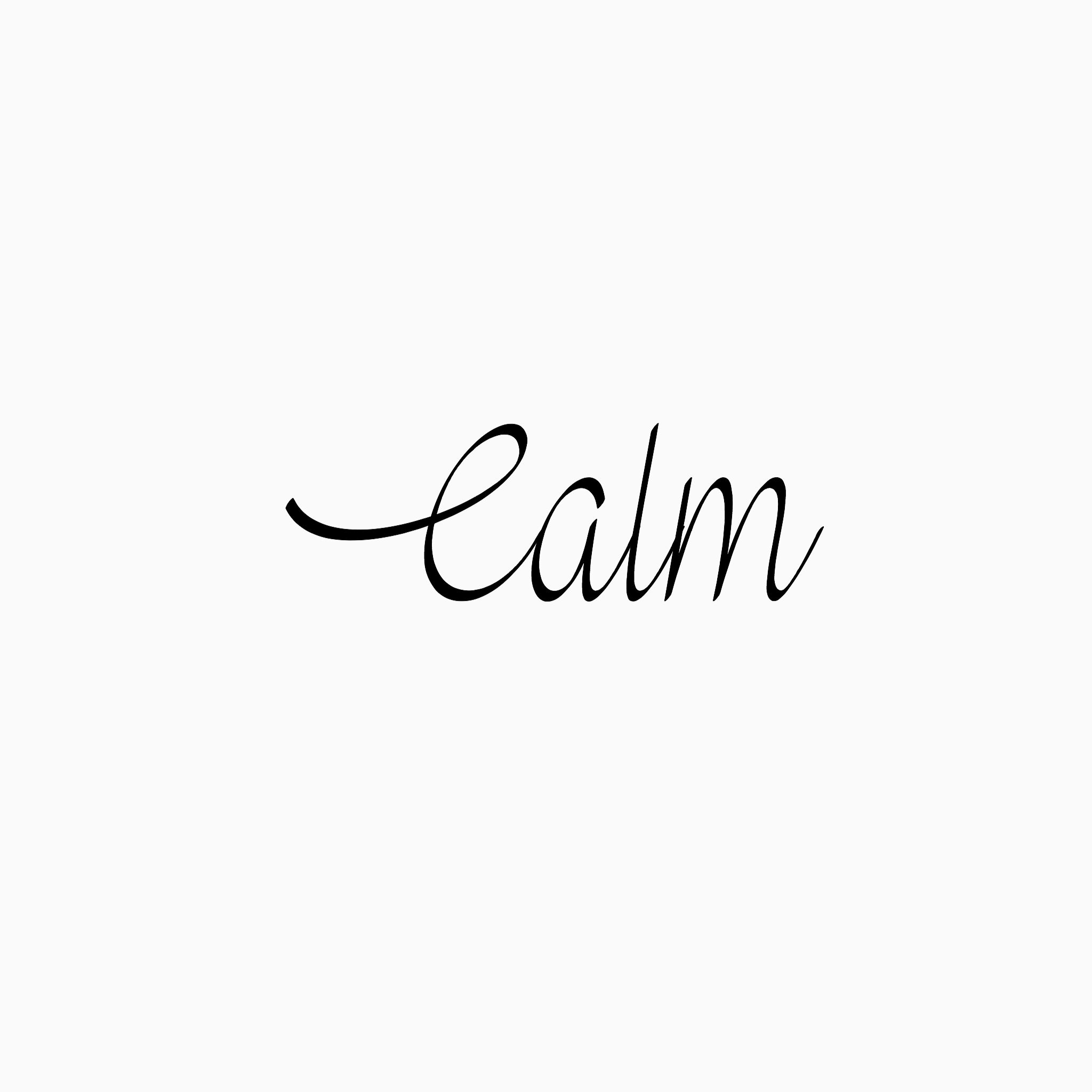 Calm// | <True Words> | Pretty words, Single words, Simple words