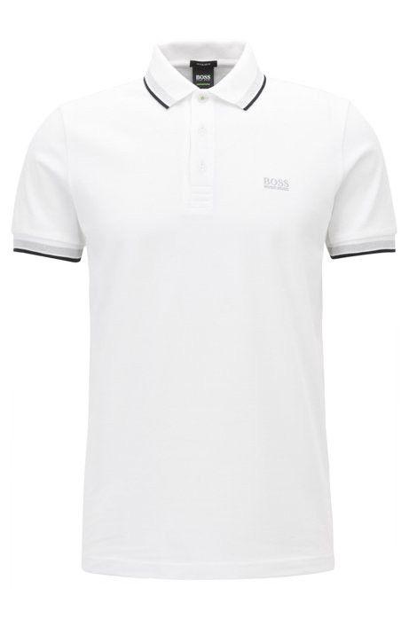 9b70f5b6 Cotton Polo Shirt, Modern Fit | Paddy by HUGO BOSS | Products | Hugo ...