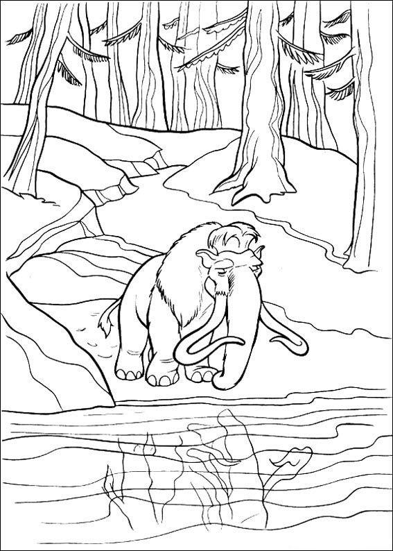 Dibujos para Colorear Ice Age. La Edad de Hielo 38 | Dibujos para ...