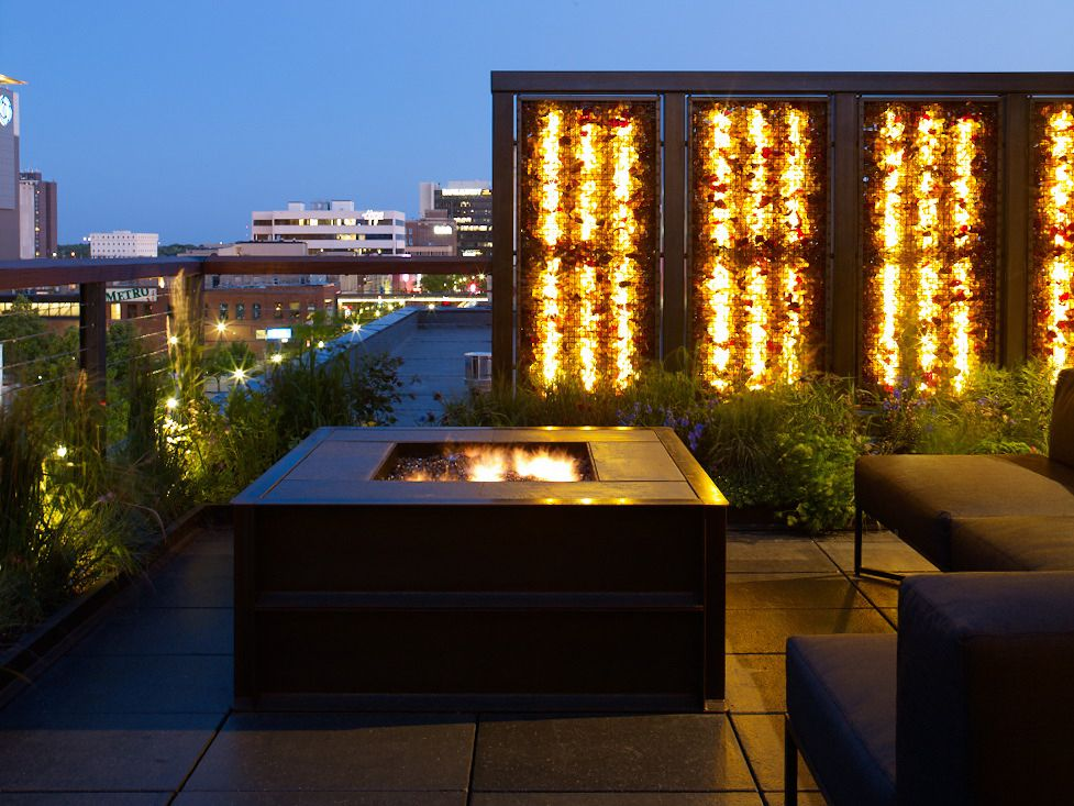 Fargo + Fire (With images) Rooftop design, Beautiful