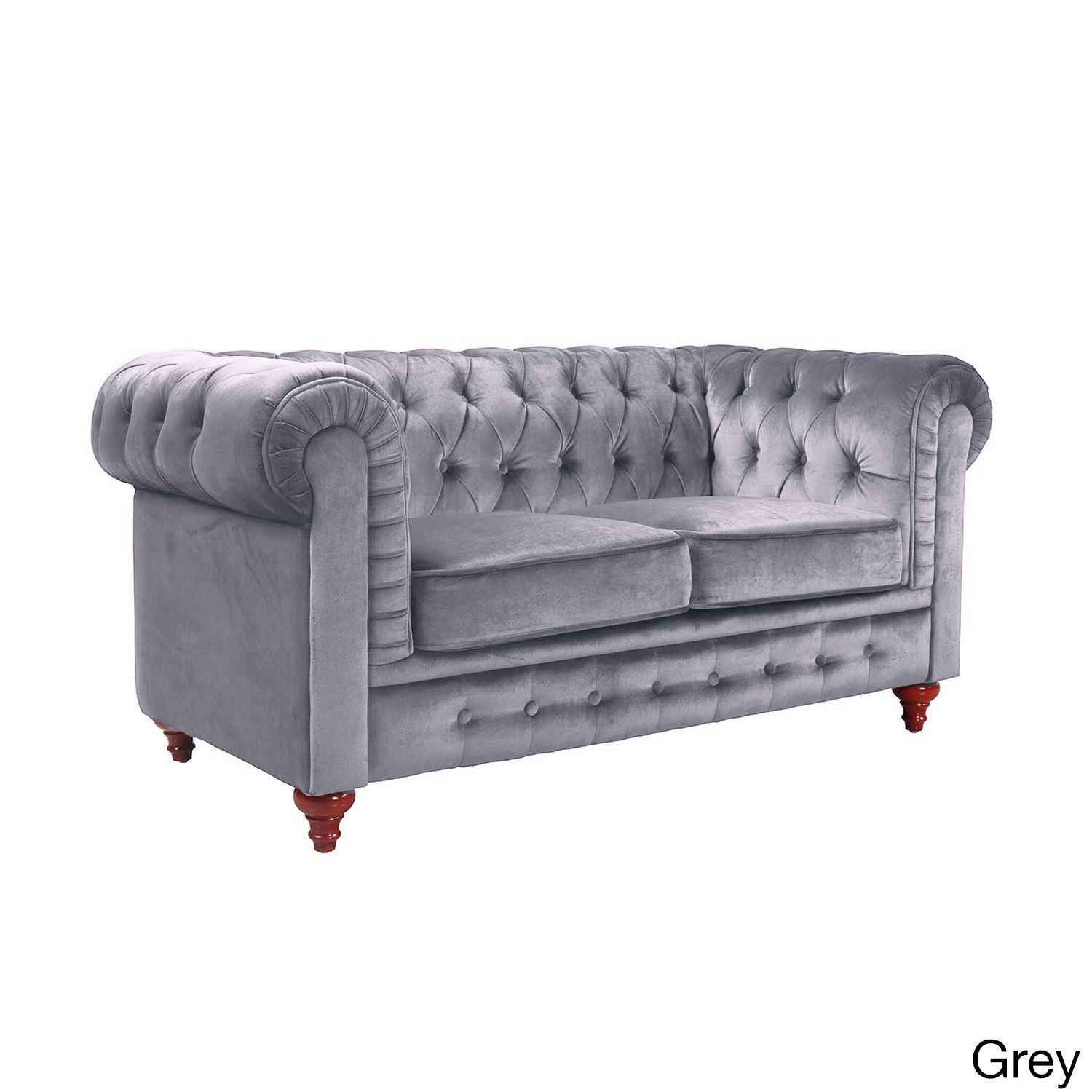 Online Shopping Bedding Furniture Electronics Jewelry Clothing More Love Seat Chesterfield Style Sofa Purple Sofa