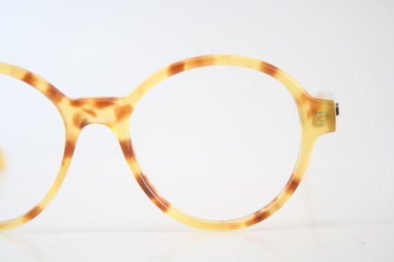 vintage eyeglass frames vintage yellow tortoise tortoise p3 1980s vintage eyewear nos deadstock glasses retro eyeglasses - Yellow Eyeglass Frames