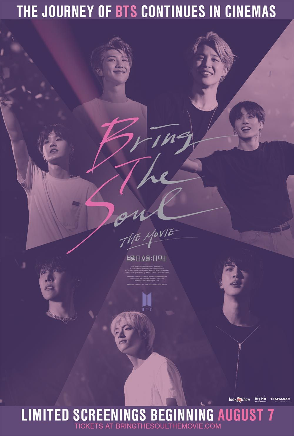 BTS' 'Bring The Soul: The Movie' poised for strong showing at S. Korean box office