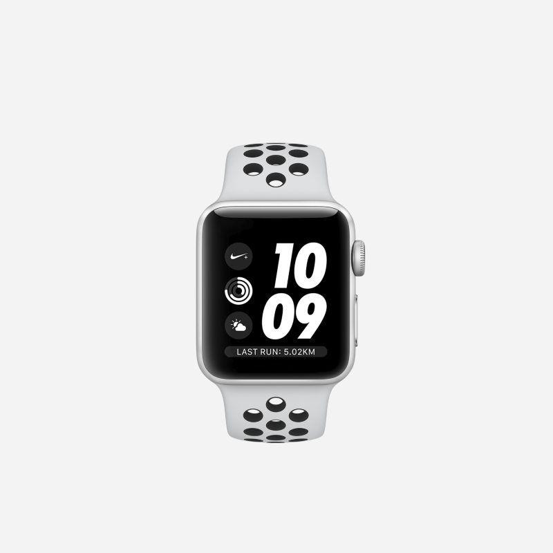 Apple Watch Nike Series 3 Gps 38mm Running Watch Silver Apple Watch Sport 38mm Apple Watch Nike
