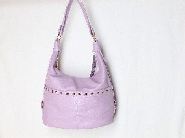 Esbag Hobo Style Ladies Handbag Gold-Hardware Polka Dot Lining