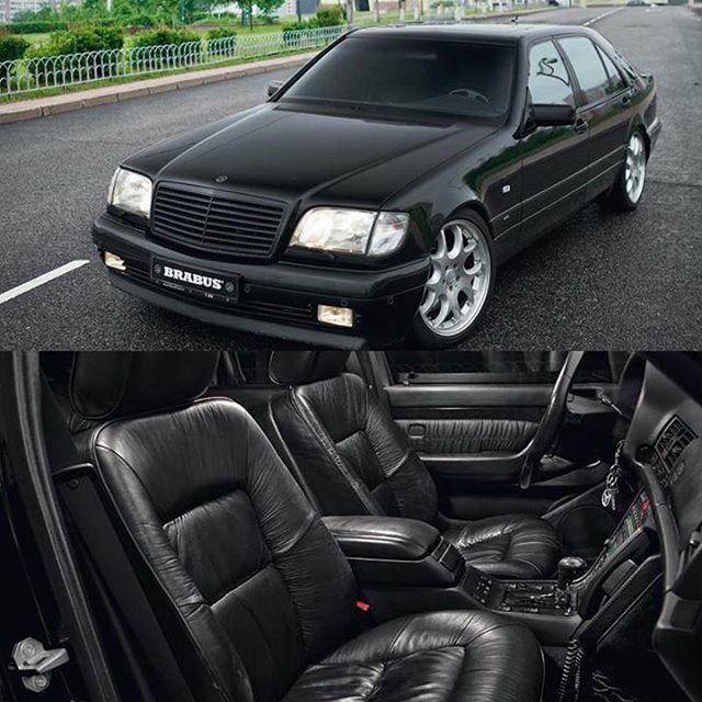 Catuned Com Catuned W140 7 3 Brabus Mercedes Black