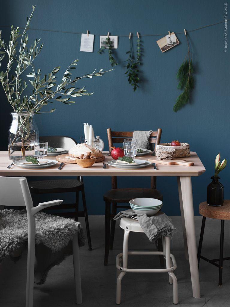 Matbordet är en plats för hela familjen att umgås kring. skapa rum ...