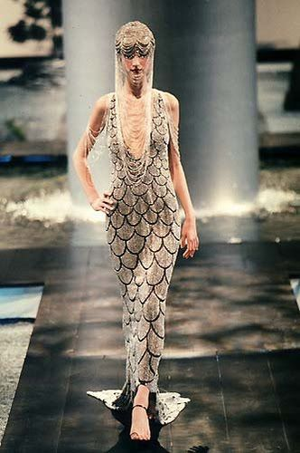 Givenchy by Alexander McQueen Spring 1998