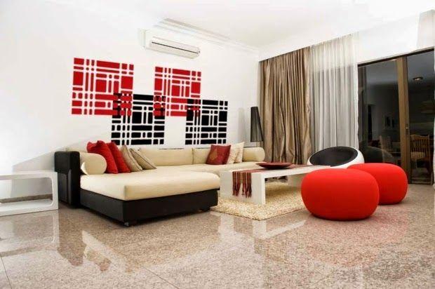 Farben Wohnzimmer Wand. rot und braun wohnzimmer innenarchitektur ...